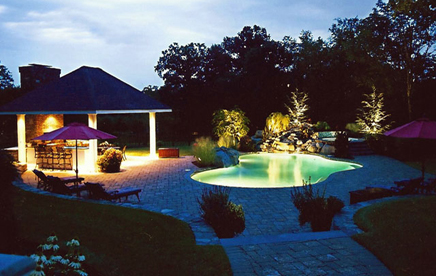 Accent lighting et landscaping construction aloadofball Choice Image